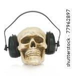 Hearing Damage   Skull Wearing...