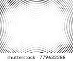 halftone black and white... | Shutterstock .eps vector #779632288