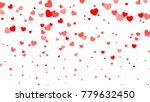 heart halftone valentine s day... | Shutterstock . vector #779632450