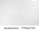 black and white wave stripe...