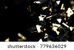 futuristic luxury abstract... | Shutterstock . vector #779636029