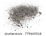 Ash Isolated On White...
