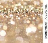 christmas light background. ... | Shutterstock . vector #779649706