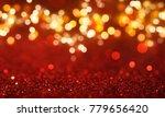 christmas light background. ... | Shutterstock . vector #779656420