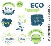 fresh  organic  gluten free ... | Shutterstock .eps vector #779668600