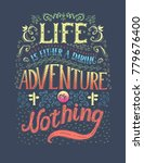 travel. vector hand drawn... | Shutterstock . vector #779676400