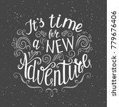 travel. vector hand drawn...   Shutterstock . vector #779676406