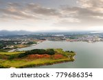clouds and mist floating in the ... | Shutterstock . vector #779686354