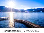 tegernsee lake in bavaria  ... | Shutterstock . vector #779702413