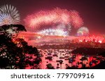 an image of a new year's eve... | Shutterstock . vector #779709916