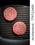 teflon coating in a frying pan... | Shutterstock . vector #779712400