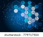 hi tech digital technology... | Shutterstock .eps vector #779717503