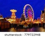 cottbus weihnachtsmarkt  ... | Shutterstock . vector #779722948