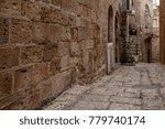 stone old city jaffa in tel aviv   Shutterstock . vector #779740174