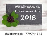 new year's greetings we wish a... | Shutterstock . vector #779744848