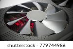 cooling system of powerful... | Shutterstock . vector #779744986
