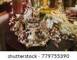 christmas decorative elements... | Shutterstock . vector #779755390