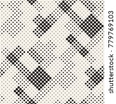 modern stylish halftone texture.... | Shutterstock .eps vector #779769103
