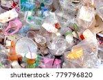 garbage  waste  plastic waste ... | Shutterstock . vector #779796820