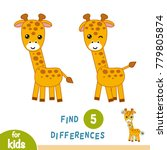 find differences  education... | Shutterstock .eps vector #779805874