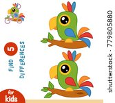 find differences  education... | Shutterstock .eps vector #779805880