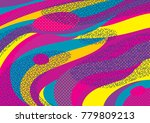 creative geometric colorful... | Shutterstock .eps vector #779809213