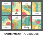 set of creative universal... | Shutterstock .eps vector #779809258