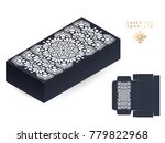 vector wedding card laser cut...   Shutterstock .eps vector #779822968