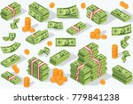 money currency illustration.... | Shutterstock . vector #779841238
