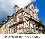 chablis  burgundy  france   5... | Shutterstock . vector #779844280