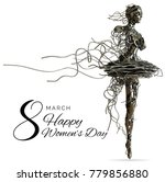 Women's Sculpture Metal  3d...