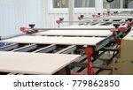 production modern conveyor line ...   Shutterstock . vector #779862850