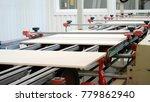 production modern conveyor line ...   Shutterstock . vector #779862940