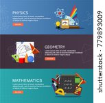 physics  geometry and... | Shutterstock .eps vector #779893009