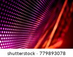 abstract led panel art  | Shutterstock . vector #779893078