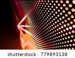 abstract led panel art  | Shutterstock . vector #779893138