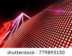 abstract led panel art  | Shutterstock . vector #779893150