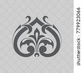 vintage baroque ornament. retro ...   Shutterstock .eps vector #779923066