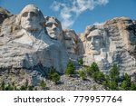 mount rushmore national... | Shutterstock . vector #779957764