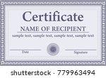 certificate  diploma... | Shutterstock .eps vector #779963494