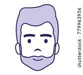 young man head avatar character | Shutterstock .eps vector #779963956