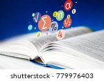 open book with pages  ... | Shutterstock . vector #779976403