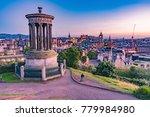 edinburgh  scotland   august 14 ... | Shutterstock . vector #779984980