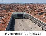 view of the rooftops of venice... | Shutterstock . vector #779986114