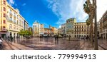 malaga  spain   december 9 ... | Shutterstock . vector #779994913