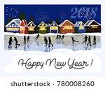 beautiful vector vintage poster ... | Shutterstock .eps vector #780008260