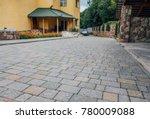 perspective view of monotone... | Shutterstock . vector #780009088