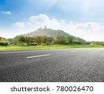asphalt road and mountain...   Shutterstock . vector #780026470