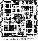 grunge black and white urban... | Shutterstock .eps vector #780089890