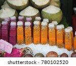 organic fruit market with fruit ...   Shutterstock . vector #780102520